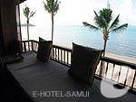 サムイ島 オーシャンビューのホテル : ハンサー サムイ リゾート & スパ(Hansar Samui Resort & Spa)のビーチフロント ルームルームの設備 Balcony