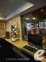 バンコク スクンビットのホテル : ヘブン アット フォー ホテル バンコク 「Internet Corner」