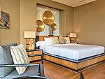 サムイ島 チョンモーンビーチのホテル : ヒルトップ4(Hill Top Villa 4)の7ベッドルームルームの設備 Bedroom