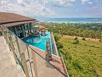 サムイ島 チョンモーンビーチのホテル : ヒルトップ4(Hill Top Villa 4)の7ベッドルームルームの設備 Private Pool