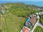 サムイ島 チョンモーンビーチのホテル : ヒルトップ4(Hill Top Villa 4)の7ベッドルームルームの設備 View