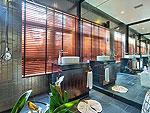 サムイ島 チョンモーンビーチのホテル : ヒルトップ4(Hill Top Villa 4)の7ベッドルームルームの設備 Bath Room