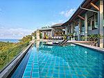 サムイ島 チョンモーンビーチのホテル : ヒルトップ4(Hill Top Villa 4)の8ベッドルームルームの設備 Private Pool