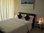 サムイ島 チョンモーンビーチのホテル : ヒルトップ5(Hill Top Villa 5)の2ベッドルームルームの設備 Bedroom