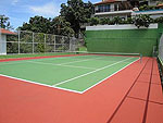 サムイ島 チョンモーンビーチのホテル : ヒルトップ5(Hill Top Villa 5)の2ベッドルームルームの設備 Tennis Court