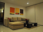 サムイ島 チョンモーンビーチのホテル : ヒルトップ5(Hill Top Villa 5)の3ベッドルームルームの設備 Living Room