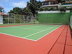 サムイ島 チョンモーンビーチのホテル : ヒルトップ5(Hill Top Villa 5)の3ベッドルームルームの設備 Tennis Court