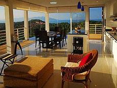 サムイ島 チョンモーンビーチのホテル : ヒルトップ5(1)のお部屋「3ベッドルーム」