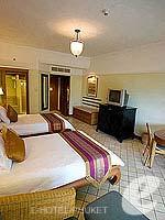 プーケット カロンビーチのホテル : ヒルトン プーケット アルカディア & スパ(Hilton Phuket Arcadia Resort & Spa)のデラックス ガーデンビュールームの設備 Room View