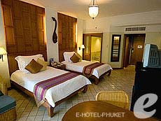 プーケット カロンビーチのホテル : ヒルトン プーケット アルカディア & スパ(1)のお部屋「デラックス ガーデンビュー」