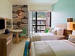 プーケット パトンビーチのホテル : ホリデイインエクスプレス・プーケット・パトンビーチ・セントラル(Holiday Inn Express Phuket Patong Beach Central)のスタンダードルームの設備 Room View