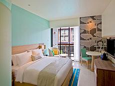 プーケット パトンビーチのホテル : ホリデイインエクスプレス・プーケット・パトンビーチ・セントラル(1)のお部屋「スタンダード」