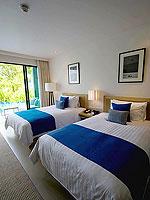 プーケット スパ併設のホテル : ホリデーイン リゾート プーケット マイカオ ビーチ(Holiday Inn Resort Phuket Mai Khao Beach)のデラックス プールアクセスルームの設備 Room View