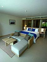 プーケット スパ併設のホテル : ホリデーイン リゾート プーケット マイカオ ビーチ(Holiday Inn Resort Phuket Mai Khao Beach)のジュニア スイート プール アクセスルームの設備 Room View