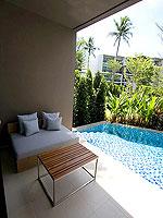 プーケット スパ併設のホテル : ホリデーイン リゾート プーケット マイカオ ビーチ(Holiday Inn Resort Phuket Mai Khao Beach)のジュニア スイート プール アクセスルームの設備 Terrace