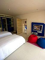 プーケット スパ併設のホテル : ホリデーイン リゾート プーケット マイカオ ビーチ(Holiday Inn Resort Phuket Mai Khao Beach)のファミリー スイートルームの設備 Room View