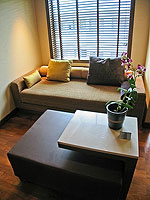 プーケット ファミリー&グループのホテル : ホリデーイン リゾート プーケット(Holiday Inn Resort Phuket)のブサコーン ヴィラルームの設備 Living area