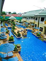 プーケット ファミリー&グループのホテル : ホリデーイン リゾート プーケット(Holiday Inn Resort Phuket)のブサコーン ヴィラルームの設備 Pool view