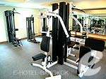Fitness Gym : Hope Land Executive Serviced Apartment, Sukhumvit, Phuket