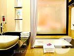 プーケット カロンビーチのホテル : ホライゾン カロン ビーチ リゾート & スパ(Horizon Karon Beach Resort & Spa)のスーペリア プールビュールームの設備 Bath Room