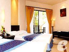 プーケット カロンビーチのホテル : ホライゾン カロン ビーチ リゾート & スパ(1)のお部屋「スーペリア プール ビュー(ツイン/ダブル)」