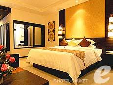 プーケット カロンビーチのホテル : ホライゾン カロン ビーチ リゾート & スパ(1)のお部屋「デラックス クラブ ウィング(ツイン/ダブル)」