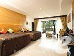 プーケット カロンビーチのホテル : ホライゾン カロン ビーチ リゾート & スパ(Horizon Karon Beach Resort & Spa)のクラブ ルーム クラブ ウイング(シングル)ルームの設備 Room View