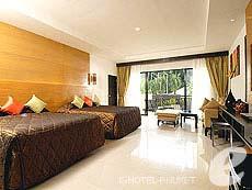 プーケット カロンビーチのホテル : ホライゾン カロン ビーチ リゾート & スパ(1)のお部屋「クラブ ルーム クラブ ウイング(シングル)」