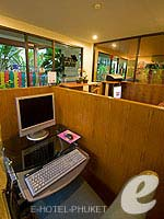 Internet Corner / Horizon Patong Beach Resort Hotel, หาดป่าตอง