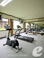 Fitness Gym : Horizon Patong Beach Resort Hotel, Fitness Room, Phuket