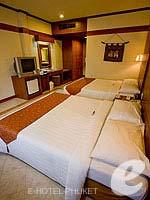 プーケット パトンビーチのホテル : ホライゾン パトン ビーチ リゾート & スパ(Horizon Patong Beach Resort Hotel)のデラックス(シングル)ルームの設備 Bedroom