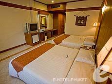 プーケット パトンビーチのホテル : ホライゾン パトン ビーチ リゾート & スパ(1)のお部屋「デラックス(ツイン/ダブル)」