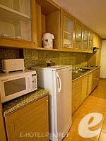 プーケット パトンビーチのホテル : ホライゾン パトン ビーチ リゾート & スパ(Horizon Patong Beach Resort Hotel)のファミリー(シングル)ルームの設備 Kitchen