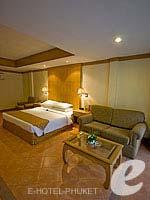 プーケット パトンビーチのホテル : ホライゾン パトン ビーチ リゾート & スパ(Horizon Patong Beach Resort Hotel)のファミリー(ツイン/ダブル)ルームの設備 Bedroom