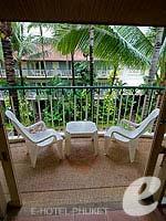 プーケット パトンビーチのホテル : ホライゾン パトン ビーチ リゾート & スパ(Horizon Patong Beach Resort Hotel)のファミリー(ツイン/ダブル)ルームの設備 Balcony