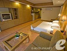 プーケット パトンビーチのホテル : ホライゾン パトン ビーチ リゾート & スパ(1)のお部屋「ファミリー(ツイン/ダブル)」