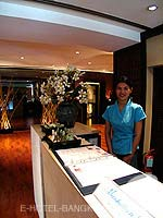 Spa ReceptionHotel Manhattan Bangkok