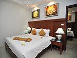 プーケット ファミリー&グループのホテル : ハイトン リーラヴァディ リゾート(Hyton Leelavadee Resort)のファミリー スイート2ルームの設備 Master - Bed Room