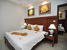 プーケット ファミリー&グループのホテル : ハイトン リーラヴァディ リゾート(1)のお部屋「ファミリー スイート2」