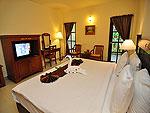 プーケット ファミリー&グループのホテル : ハイトン リーラヴァディ リゾート(Hyton Leelavadee Resort)のスーペリア(ツイン/ダブル)ルームの設備 Bedroom