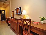 プーケット ファミリー&グループのホテル : ハイトン リーラヴァディ リゾート(Hyton Leelavadee Resort)のデラックス(ツイン/ダブル)ルームの設備 Room View