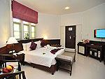 プーケット ファミリー&グループのホテル : ハイトン リーラヴァディ リゾート(Hyton Leelavadee Resort)のデラックス コテージ(シングル)ルームの設備 Bedroom