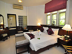 プーケット ファミリー&グループのホテル : ハイトン リーラヴァディ リゾート(1)のお部屋「デラックス コテージ(シングル)」