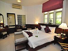 プーケット ファミリー&グループのホテル : ハイトン リーラヴァディ リゾート(1)のお部屋「デラックス コテージ(ツイン/ダブル)」