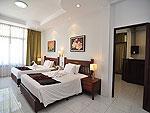プーケット ファミリー&グループのホテル : ハイトン リーラヴァディ リゾート(Hyton Leelavadee Resort)のファミリー スイート1ルームの設備 Bed Room