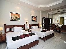 プーケット ファミリー&グループのホテル : ハイトン リーラヴァディ リゾート(1)のお部屋「ファミリー スイート1」