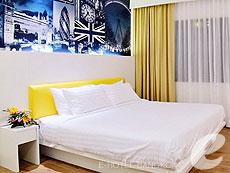 バンコク スクンビットのホテル : アルマニ ホテル スクンビット 11 バイ アンダクラ(Armoni Hotel Sukhumvit11 By Andacura)のお部屋「デラックス」