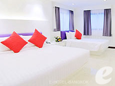 バンコク スクンビットのホテル : アルマニ ホテル スクンビット 11 バイ アンダクラ(Armoni Hotel Sukhumvit11 By Andacura)のお部屋「エグジクティブ」