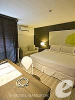バンコク シーロム・サトーン周辺のホテル : アイ レジデンス(i Residence)のジュニア スイートルームの設備 Bedroom