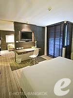 バンコク ファミリー&グループのホテル : アイ レジデンス(i Residence)のジュニア スイートルームの設備 Bedroom